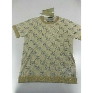グッチ(Gucci)の正规品、新品、美品 レディースグッチ GUCCI 半袖セーター *M*(ニット/セーター)