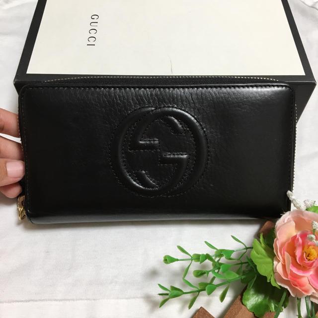 Gucci - GUCCIグッチ長財布の通販 by  mikipriti  |グッチならラクマ