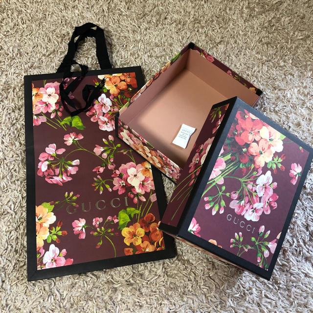 Gucci - GUCCI グッチ ギフトセット ショップ袋 空箱 ブルームスの通販 by めんたい子's shop|グッチならラクマ