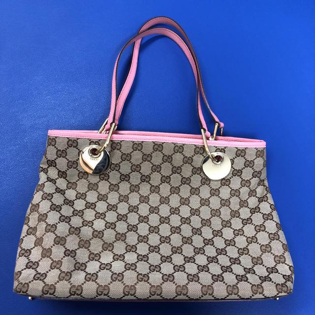 おしゃれ バッグ 激安ブランド 、 Gucci - GUCCI グッチ トートバッグ GG キャンバスの通販 by M1-chqn Shop|グッチならラクマ