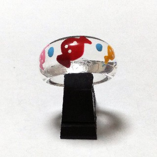 アクリル甲丸リング(リング(指輪))