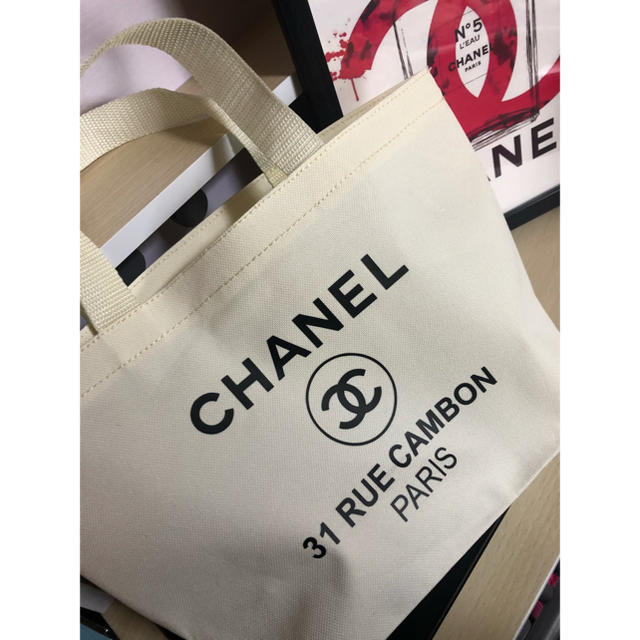 CHANEL - CHANEL トートバッグ マザーズバッグ シャネル 白 マザーズバック 白の通販 by HELLO♡'s shop|シャネルならラクマ