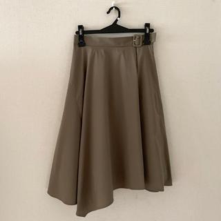 クリアインプレッション(CLEAR IMPRESSION)のクリアインプレッション♡アシンメトリー膝丈スカート(ひざ丈スカート)