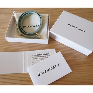 バレンシアガ(Balenciaga)の最終値下げ 新品 BALENCIAGA ジャイアント ロングブレス 三重巻き(ブレスレット/バングル)