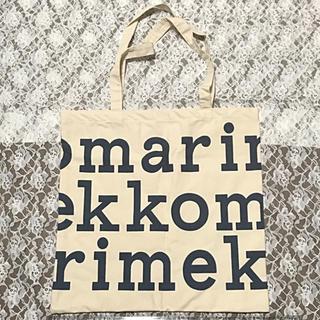 マリメッコ(marimekko)の【新品】マリメッコ ロゴトートバッグ マリロゴ エコバッグ  非売品(エコバッグ)