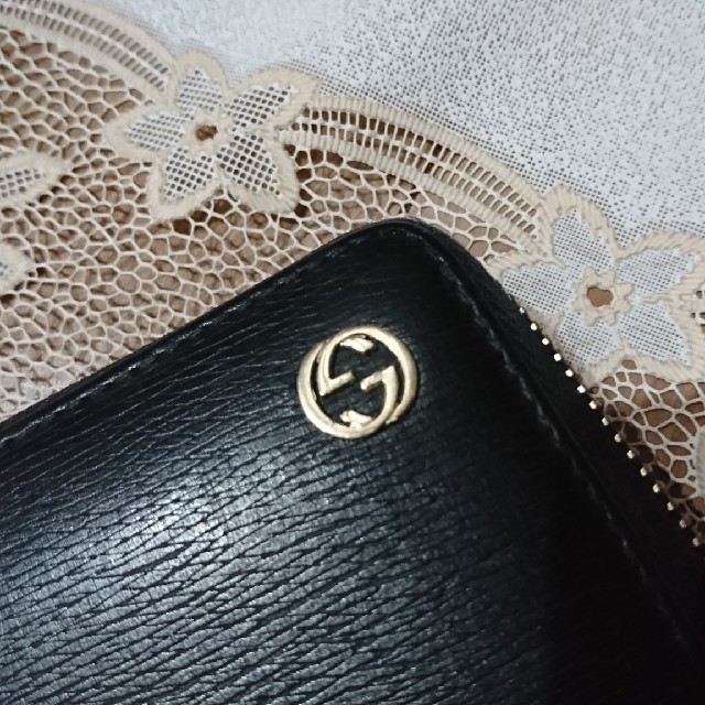 Gucci - 【GUCCI】 GGロゴ グッチ 長財布 ラウンドファスナーの通販 by アキコshop|グッチならラクマ