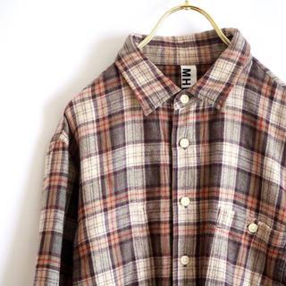 マーガレットハウエル(MARGARET HOWELL)の【MARGARET HOWELL】チェックシャツ やや厚手☆(シャツ)