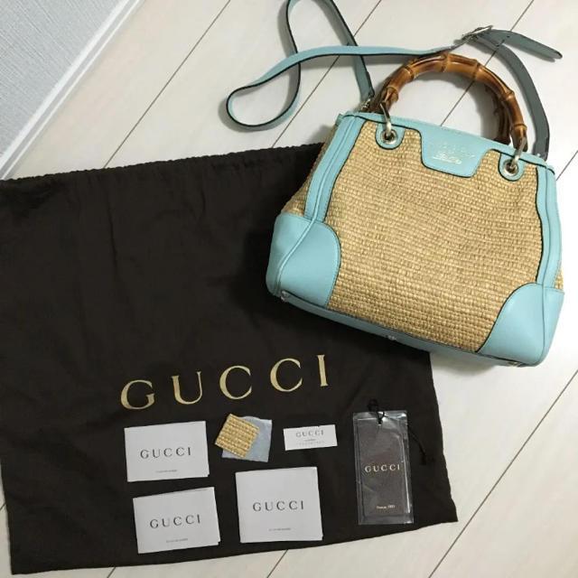 Gucci - GUCCI バンブーバッグの通販 by みーやん's shop|グッチならラクマ