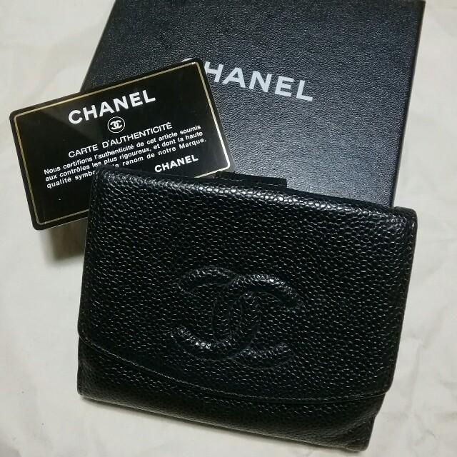 セリーヌ バッグ 激安本物 - CHANEL - シャネル 中古 財布 Gカード 箱あります。の通販 by カプチーノ's shop|シャネルならラクマ