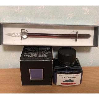 エルバン(Herbin)のJ.HERBINのガラスペンとインク(ペン/マーカー)