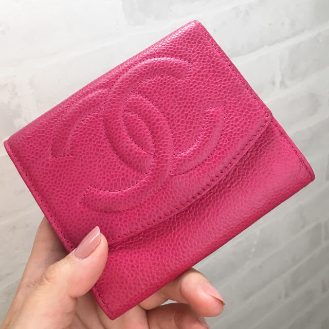 プリマクラッセ 財布 偽物ヴィヴィアン - CHANEL - シャネル❤キャビアスキン ミニ 財布 ピンクの通販 by みーs shop|シャネルならラクマ