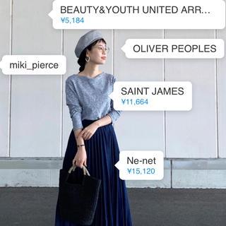ビューティアンドユースユナイテッドアローズ(BEAUTY&YOUTH UNITED ARROWS)のベレー帽 未使用 BEAUTY&YOUTH UNITED ARROWS(ハンチング/ベレー帽)