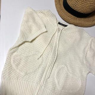イング(INGNI)のINGNI ハート型ポケット 半袖パーカー(パーカー)