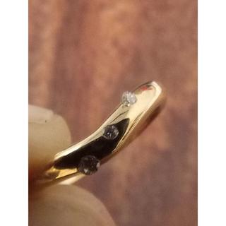 スタージュエリー(STAR JEWELRY)のSTAR JEWELRY!K18ダイヤリング 4号(リング(指輪))