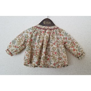 Bonpoint - 美品☆ボンポワン☆スモッキングブラウス 60cm