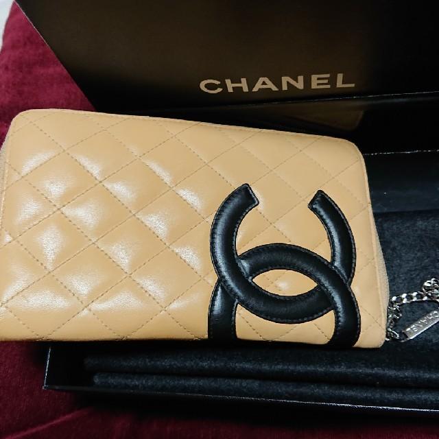 ブランドコピーバッグ 海外 、 CHANEL - CHANEL長財布カンボンラインファスナーの通販 by おおらん's shop|シャネルならラクマ