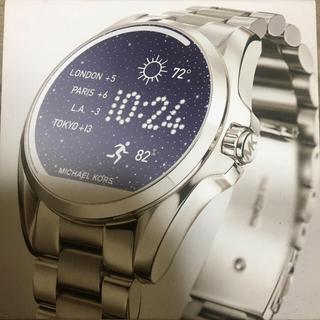マイケルコース(Michael Kors)のマイケルコース スマートウォッチMKT5012 ラバーベルト付(腕時計(デジタル))