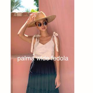 ルームサンマルロクコンテンポラリー(room306 CONTEMPORARY)のroom306♡palma wide fedola(麦わら帽子/ストローハット)