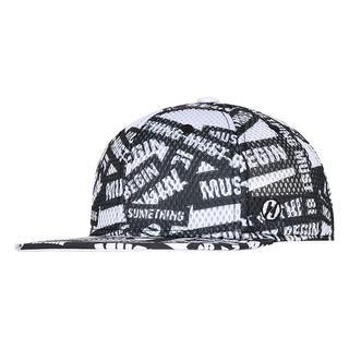 メッシュ総柄CAP ML(51〜55cm)小学校低学年~(帽子)