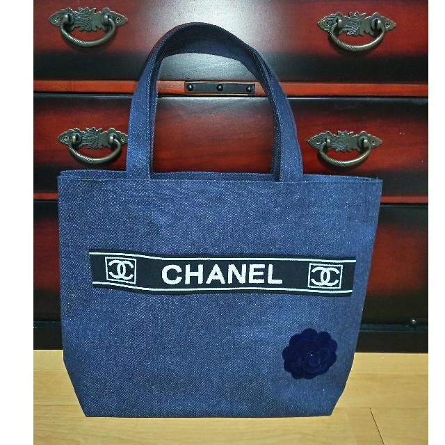 CHANEL - CHANEL未使用デニムトートバッグの通販 by ぱらら's shop|シャネルならラクマ