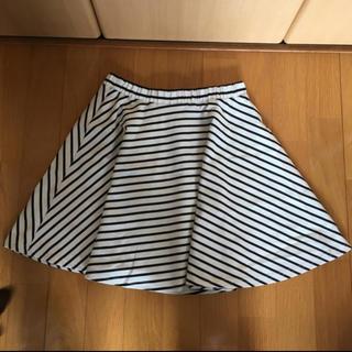 ローリーズファーム(LOWRYS FARM)のボーダースカート(ミニスカート)