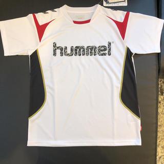 ヒュンメル(hummel)のhummel ヒュンメル半袖プラシャツ サイズSS 新品タグ付き 即購入OK(Tシャツ/カットソー(半袖/袖なし))