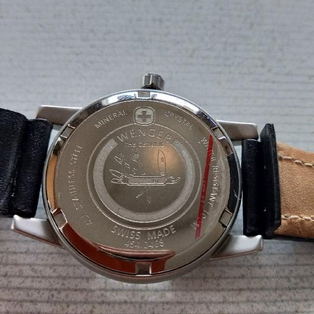 Wenger(ウェンガー)のウェンガー 手巻き メンズの時計(腕時計(アナログ))の商品写真
