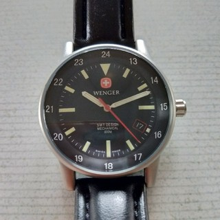 ウェンガー(Wenger)のウェンガー 手巻き(腕時計(アナログ))
