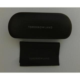 トゥモローランド(TOMORROWLAND)のTOMORROWLAD  透明ニッケルラウンドサングラス(サングラス/メガネ)