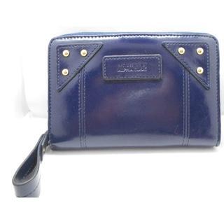 アルファキュービック(ALPHA CUBIC)の【新品】アルファキュービック 二つ折り財布 レディース ブルー(財布)