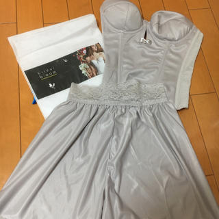 bridal bloom ブライダル ブルーム ビスチェ&フレアパンツ(ブライダルインナー)