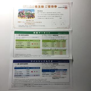 ホンダ - 鈴鹿サーキット、ツインリンクもてぎ 株主優待券