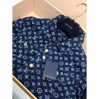 ルイヴィトン(LOUIS VUITTON)のLouis Vuitton デニムジャケット 欠品のため格安(Gジャン/デニムジャケット)