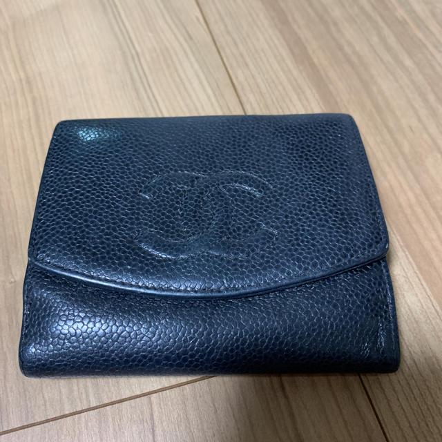 CHANEL - シャネル 折財布  値下げ!!最終価格の通販 by yu...mo's shop|シャネルならラクマ