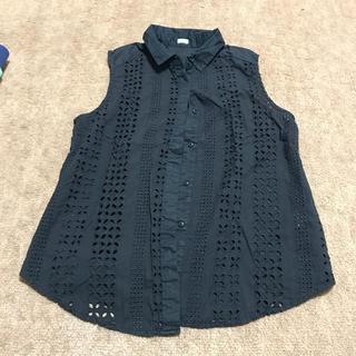 ジーユー(GU)のGU コットンシャツ(シャツ/ブラウス(半袖/袖なし))