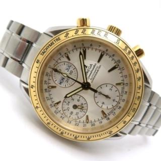 オメガ(OMEGA)の中古 オメガ スピードマスター・デイデイト イエローゴールド×ステンレス (腕時計(アナログ))