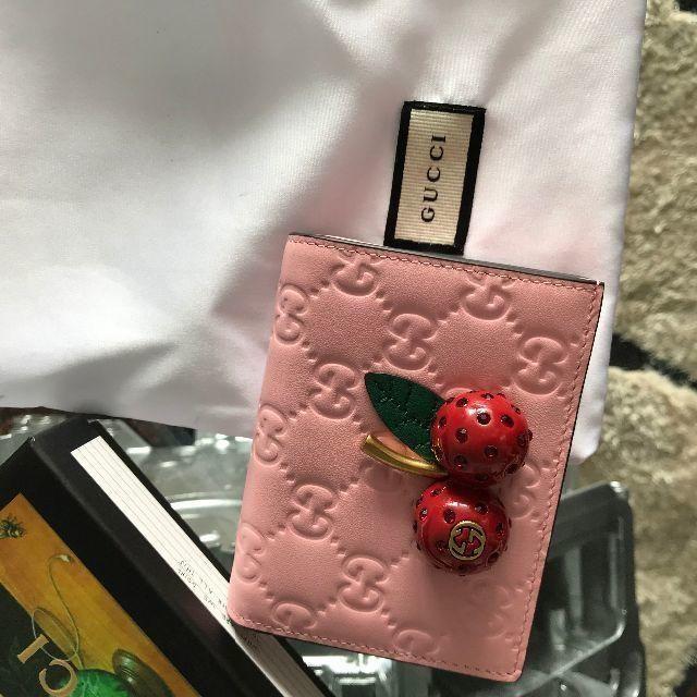 Gucci - GUCCI 財布 さくらんぼの通販 by チポバミ's shop|グッチならラクマ