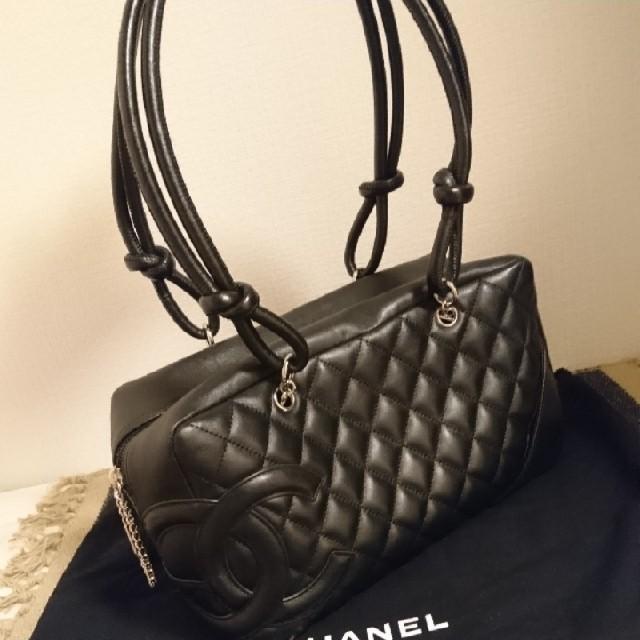 CHANEL - CHANEL☆ボーリングバッグの通販 by nelchaco's shop|シャネルならラクマ