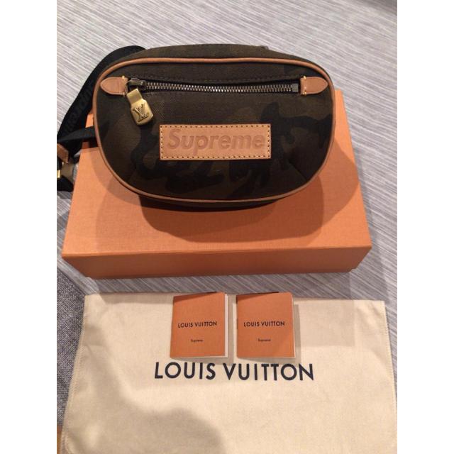 LOUIS VUITTON - LOUISVUITTON × SUPREME  ルイ・ヴィトン×シュプリームの通販 by がぁこ's shop|ルイヴィトンならラクマ