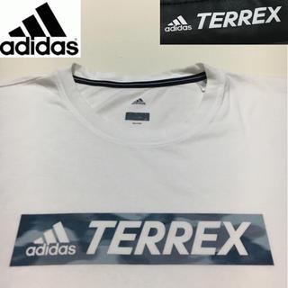アディダス(adidas)のアディダス◆TERREX カットソー Tシャツ ホワイト 2XOサイズ(Tシャツ/カットソー(半袖/袖なし))
