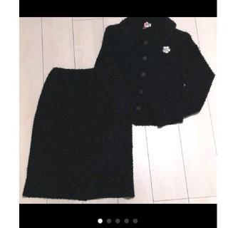 フォクシー(FOXEY)の週末値下☆美品☆FOXEY☆リボンツイードスーツ ジャケット スカート 40(スーツ)