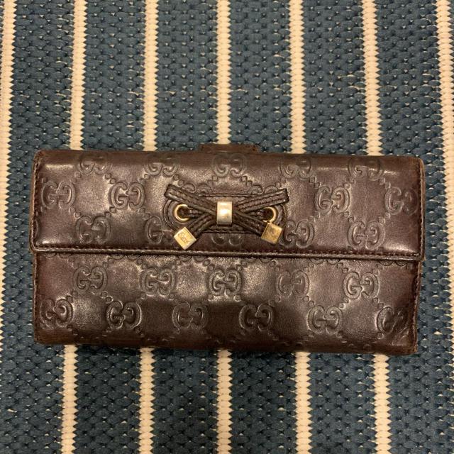 エルメス カードケース スーパーコピーエルメス | Gucci - GUCCI長財布の通販 by さくらんぼ's shop|グッチならラクマ