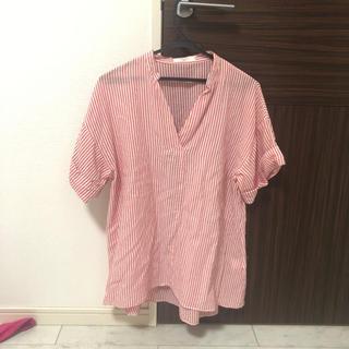 サマンサモスモス(SM2)のSM2ストラップシャツ(Tシャツ(半袖/袖なし))