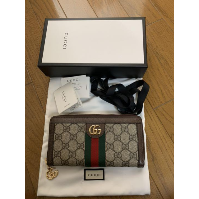 Gucci - ❤️最終お値下げ❤️GUCCI 長財布の通販 by yukyu's shop|グッチならラクマ