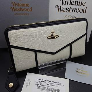ヴィヴィアンウエストウッド(Vivienne Westwood)の新品☆未使用☆正規品☆ヴィヴィアン ウエストウッド 長財布 ホワイト ♥️04(財布)