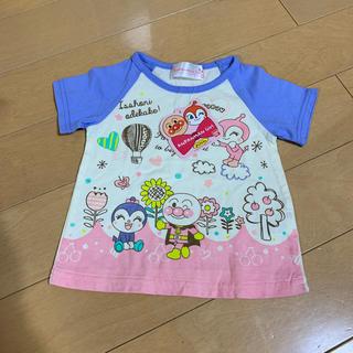 バンダイ(BANDAI)のあんぱんマンTシャツ80未使用自宅保管です(Tシャツ)