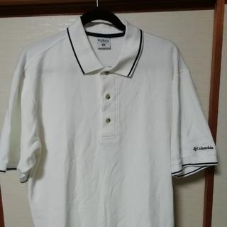 コロンビア(Columbia)のコロンビア ポロシャツ M  ホワイト(ポロシャツ)