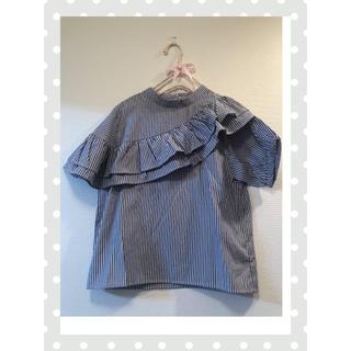 メルロー(merlot)のプルオーバーブラウス(merlot)(シャツ/ブラウス(半袖/袖なし))