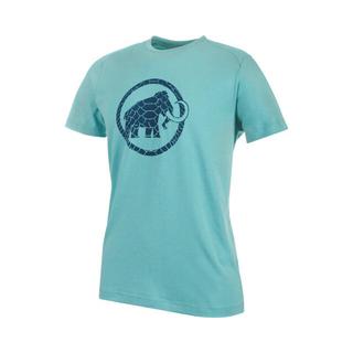 マムート(Mammut)のMAMMUT マムート トレッキング 半袖Tシャツ トラバット ブルー メンズM(登山用品)