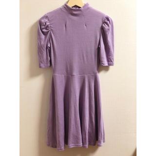 aab6dd147053a ナディア(NADIA)のNADIA 紫 ワンピース(ひざ丈ワンピース)